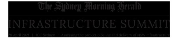 The Sydney Morning Herald Infrastructure Summit